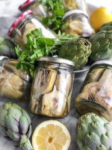 recetas con alcachofas en conserva vegana