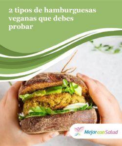 recetas con hamburguesas veganas