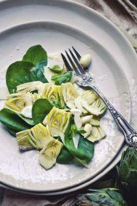 recetas de alcachofas en conserva vegana