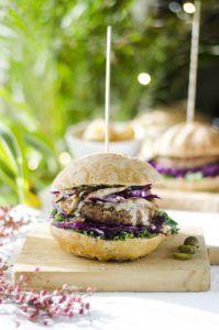 recetas de hamburguesas originales veganas