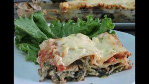 recetas de lasaña de verduras