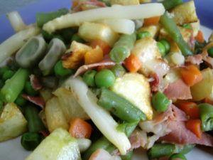 recetas de menestra de verduras congeladas