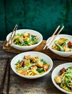 recetas de tofu con verduras