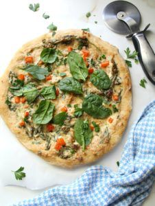 recetas pizzas vegana