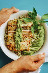 recetas tofu firme