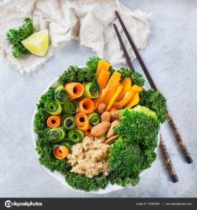 risotto de verduras vegano