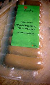 salchichas frankfurt vegetarianas