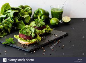salchichas veganas con remolacha