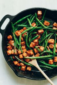 salchichas veganas con tofu