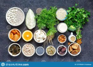 semillas con calcio veganos