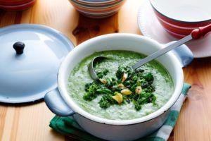 sopa de mayonesa vegana