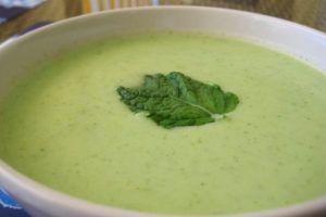 sopa de melon y pepino vegana