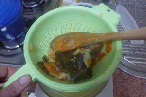 sopa de miso con jengibre instantanea…