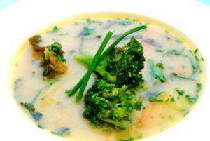 sopa de miso vegana