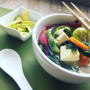 sopa de navidad vegana
