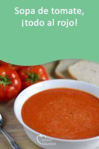 sopa de pan con tomate vegana