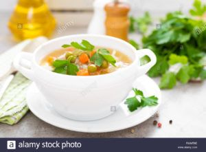 sopa de repollo receta vegana