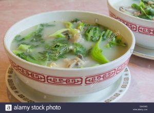 sopa de tofu