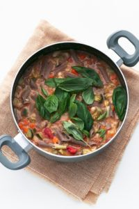 sopa minestrone facil vegana