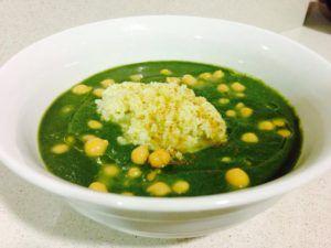 sopa minestrone original vegana
