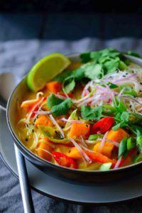 sopa vegana de verduras