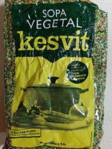sopa vegetal kesvit vegana