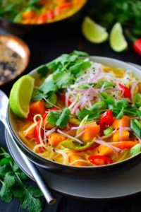 sopas faciles y deliciosas vegana