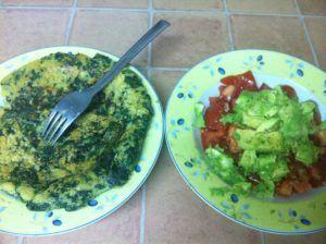 sustituir huevo en bizcocho vegano