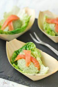 tapas con verduras