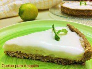 tarta de limon vegana