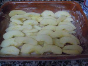 tarta de manzana vegana thermomix