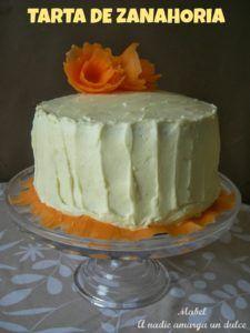 tarta de zanahoria y coco facil