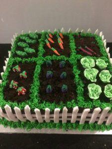 tarta vegana cumpleaños
