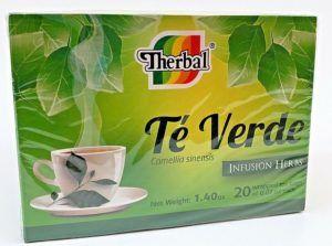 té verde con curcuma