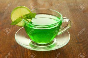 té verde con limon