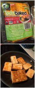 tofu natural a tacos