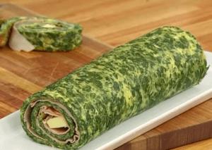 tortilla de verduras vegana