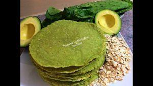 tortilla vegana de verduras