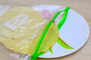 tortilla vegana harina de arroz