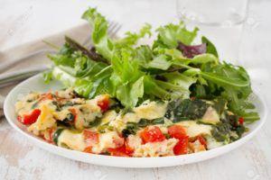 tortillas de verduras