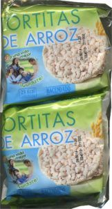 vegan galletas chocolate arroz 10 paquetes