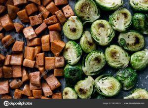 verdura asada al horno