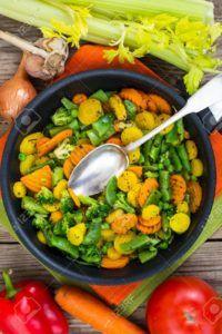 verdura cocida