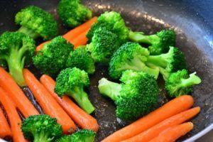 verduras con calcio