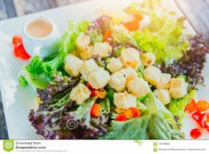 verduras con soja