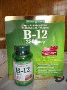vitamina b12 sublingual