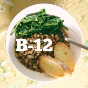 vitamina b12 vegana