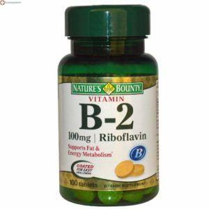 vitamina b2 riboflavina 100mg