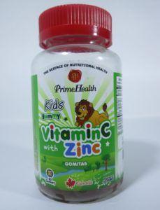 vitamina c zinc