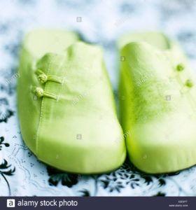 zapatillas veganas verdes